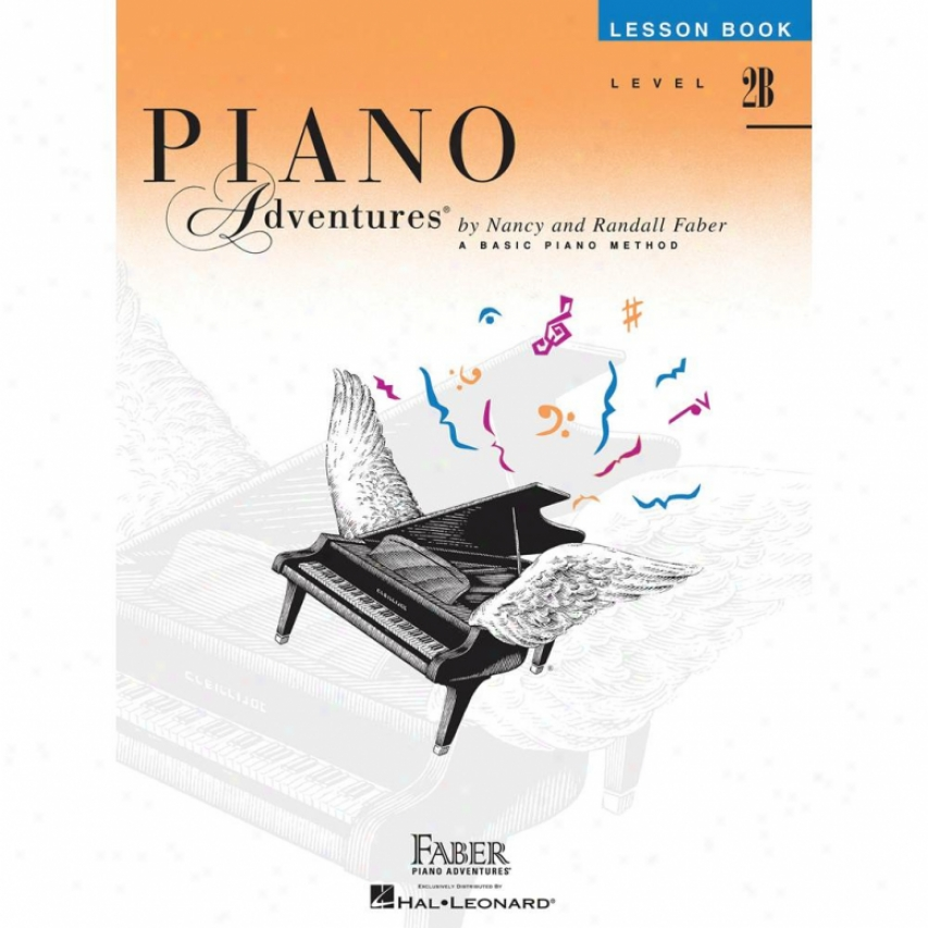 Hal Leonard Piano Adventures Level 2b - Reproof Book - Hl 00420177