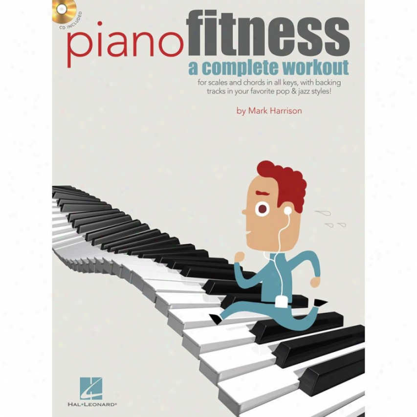 Hal Leonard Piano Fitness Book - Hl 00311995