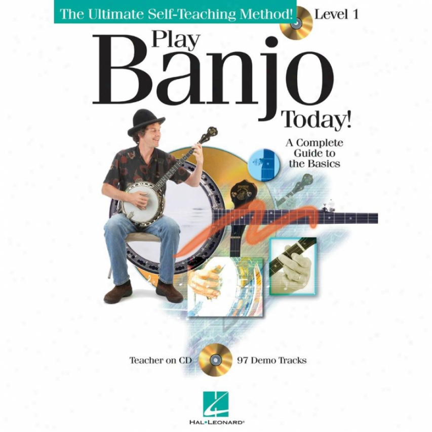 Hal Leonard Play Banjo Today! Level One - Hl 00699897