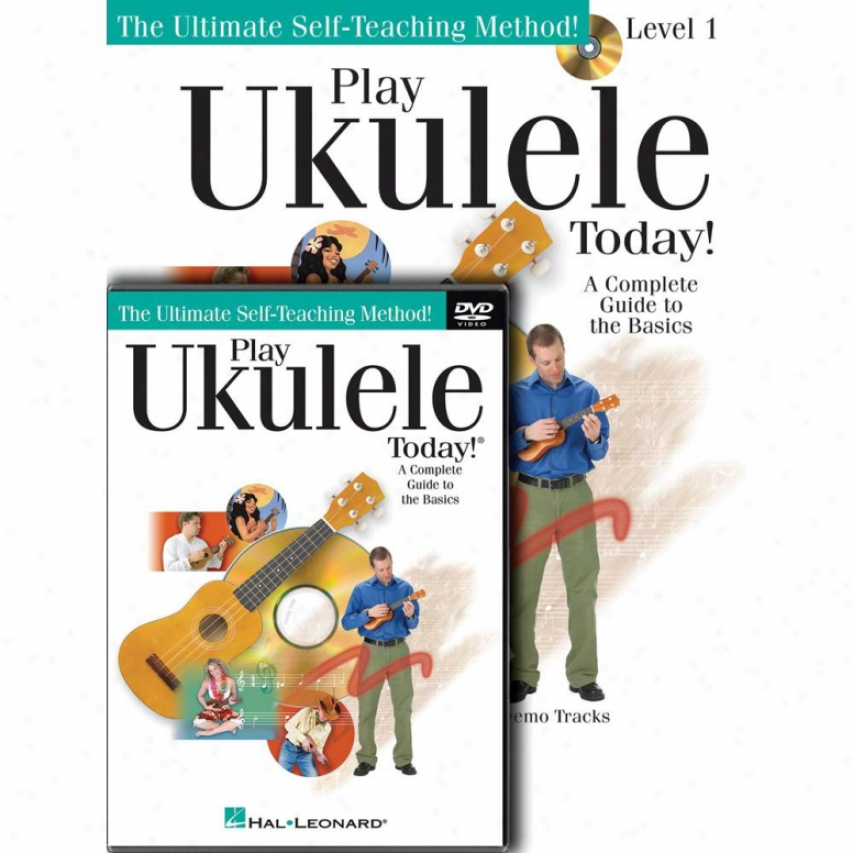 Hal Leonard Play Ukulele Today! Beginner's Pack - lH 00701872