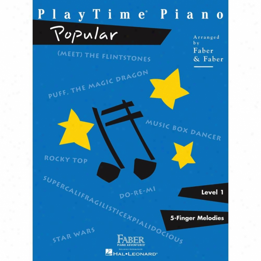 Hal Leonard Playime Popular Songbook - Hl 00420110