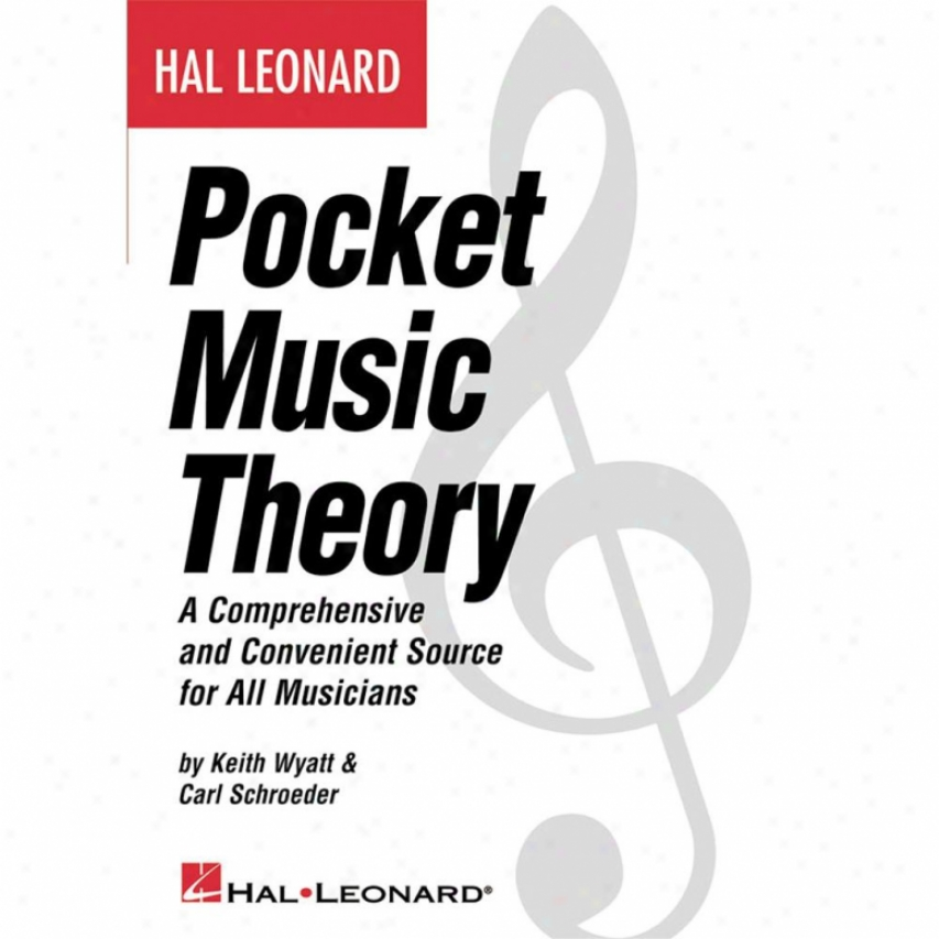 Hal Leonard Pocket Music Theory Book - Hl 00330968