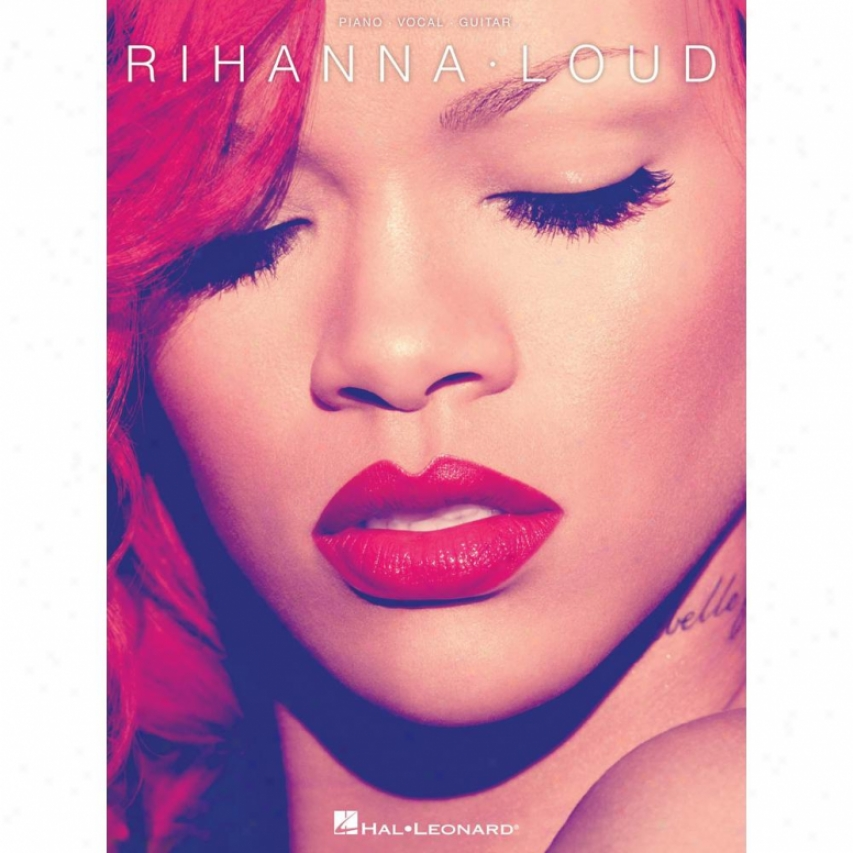 Hal Leobard Rihanna - Flashy Piano / Vocal / Guitar Artist Songbook