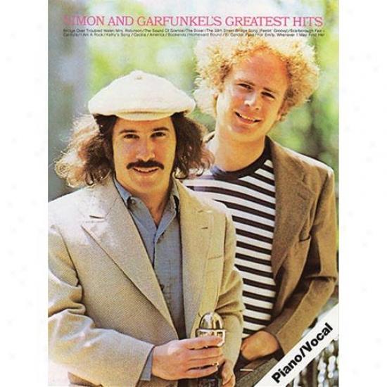 Hal Leonard Simon And Garfunkel's Greatest Hits Songbook - Hl 14030202