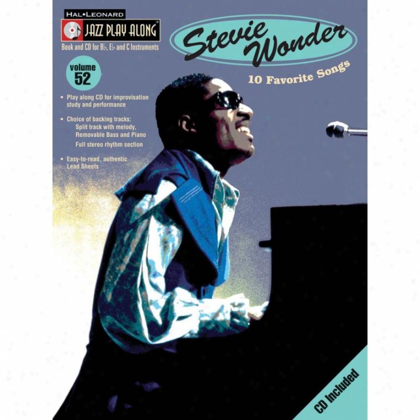 Hal Leonard Stevie Wonder Songbook - Hl 00843048