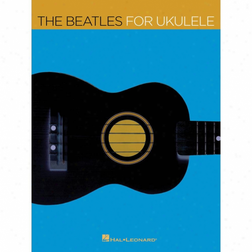 Hal Leonard The Beatles For Ukulele