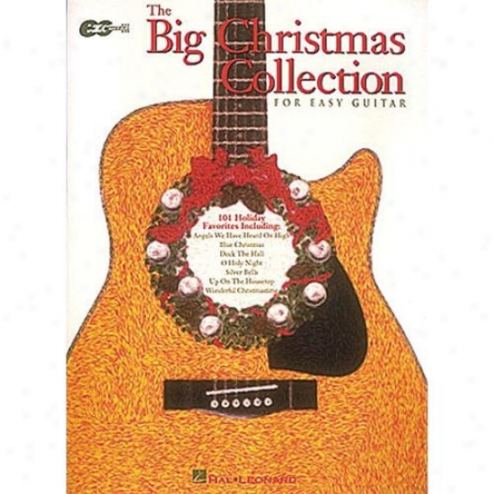 Hak Leonard The Full Christmas Collection For Easy Guitar Songbook