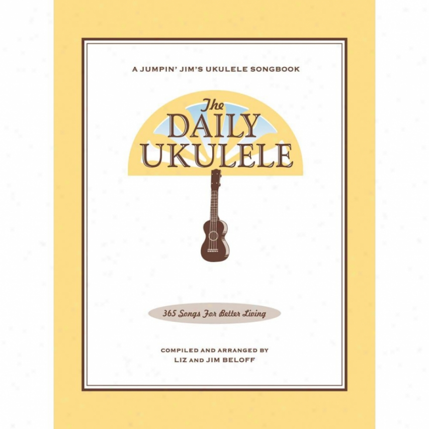 Hal Leonard The Daily Ukulele Sonbook - Hl 00240356