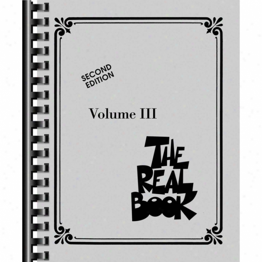 Hal Leonard The Real Book-  Volume Iii - Hl 00240233
