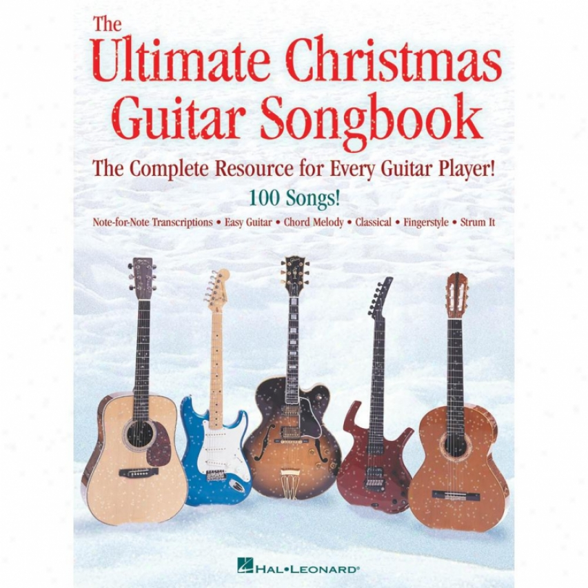 Hal Leonard The Ultimate Christmas Guitar Songbook - Hl 00700185