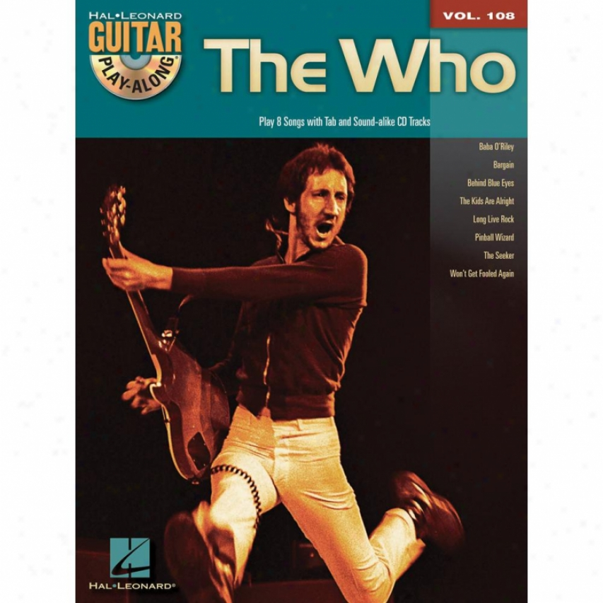 Hal Leonard The Who Songbook - Hl 00701053