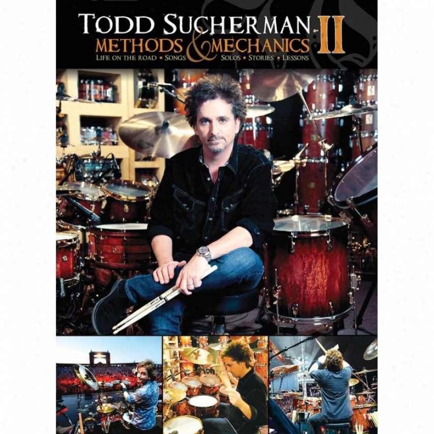 Hal Leonard Todd Sucherman - Methods & Mechanics Ii Dvd Flow
