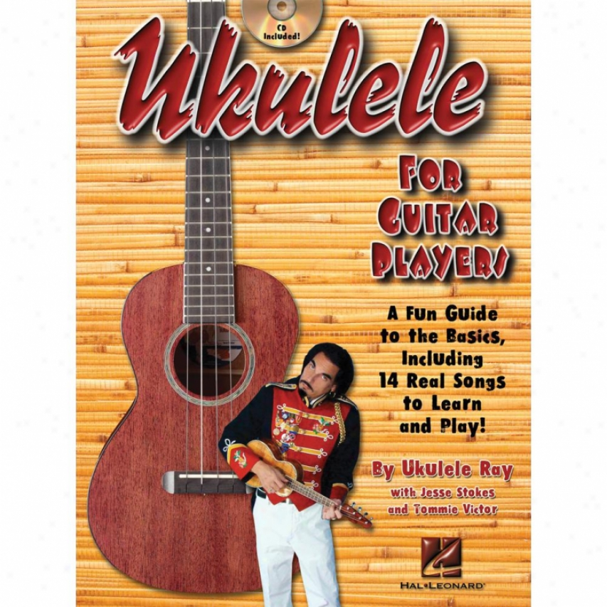 Hal Leonard Ukulele For Guitar Plaers Book/cd Hl 00696386