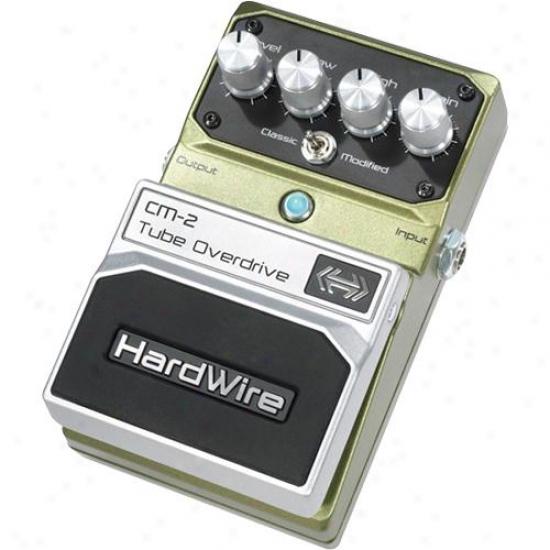 Hardwire Cm2 Tube Overdrive Pedl