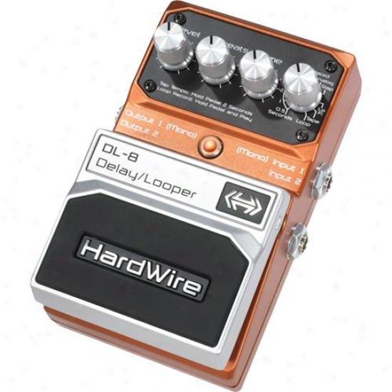 Hardwire Dl8 Delay Looper Pedal