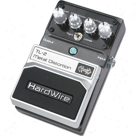 Hardwire Tl2 Metal Distortion Pedal