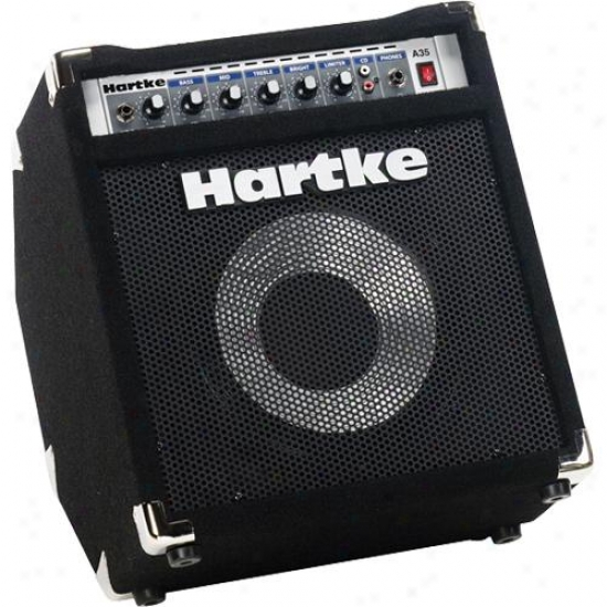 Hartke A35 Bass Combo Amplifier With Kickback Design Cabinet