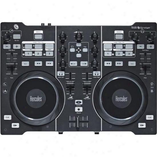 Hercules Dj 4set Capacious Dj Controller W/ Built-in Audio Outputs