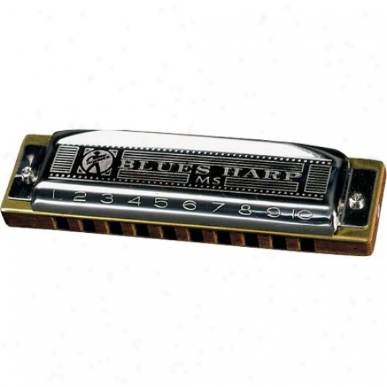 Hohner Hamonica 532bl-g+ Bluse Harp Harmonica Key Of G#/ab