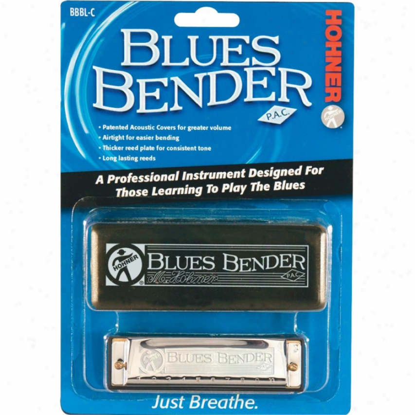 Hohner Harmonica Bluee Bender Harmonica - Key Of C