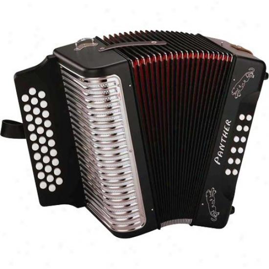 Hohner Harmonica Ha-3100 Panther Gcf Diatonic Accordion