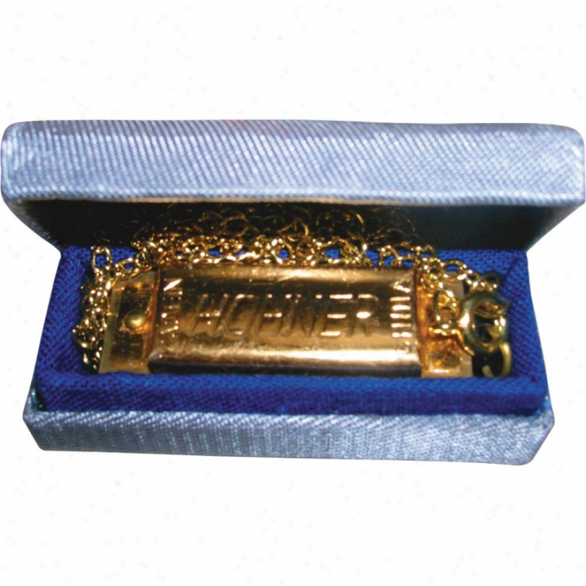 Hohner Harmonica Hh37 Mini Harmonica With Chain - C-key
