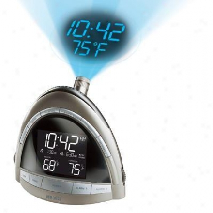 Homedics Ss-5010 Soundspa Premier Am/fm Clock Radio With Time Projection