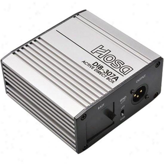 Hosa Active Direct Spar W/line & Speaker-level In, & Xlr Out