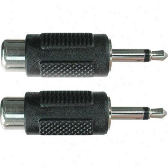Hosa Grm-114 Rca (f) To 3.5mm Ts (m) - Adaptor