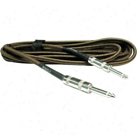 Hosa Gtr-518twd 18 Foot Traditional Guitar Cable With Tweed Jacket