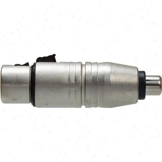 Hosa Gxf-132 Rca (f) To Xlr 3f - Adaptor