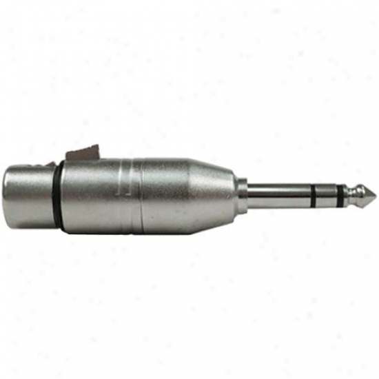 Hosa Gxp-143 Xlr To 1/4-incu Adapter