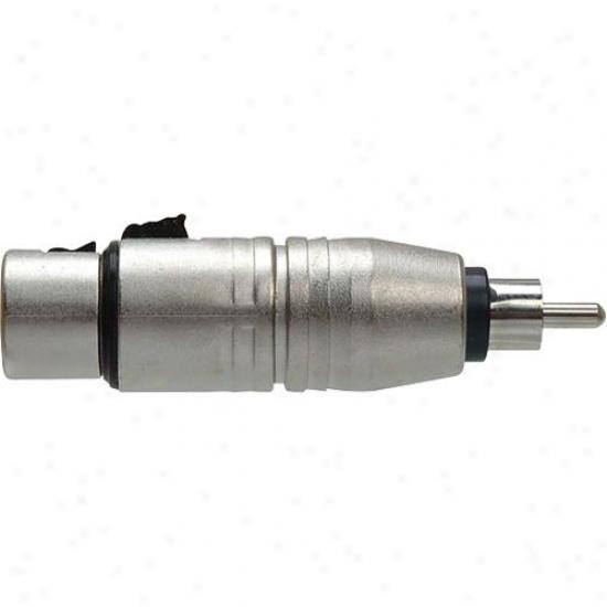 Hosa Gxr-134 Xlr 3f To Rca (m) - Adaptor