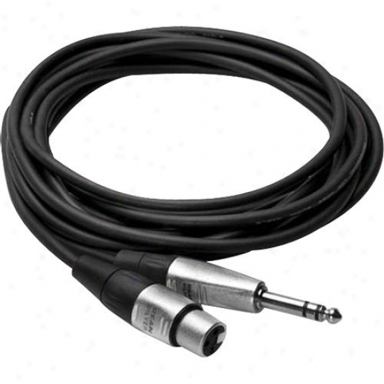 Hosa Trs To Xlr Male Balanced Cable 5-foot