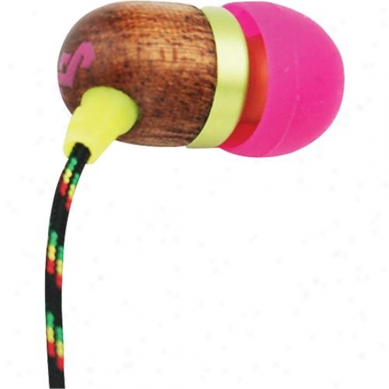 House Of Marley Jammin Smile Jamaica In-ear Headphones - Lily