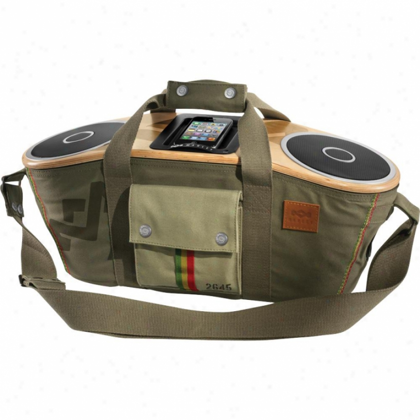 House Of Marley Jammin' Bag Of Rhythm Portable Ipod/iphone Sound System