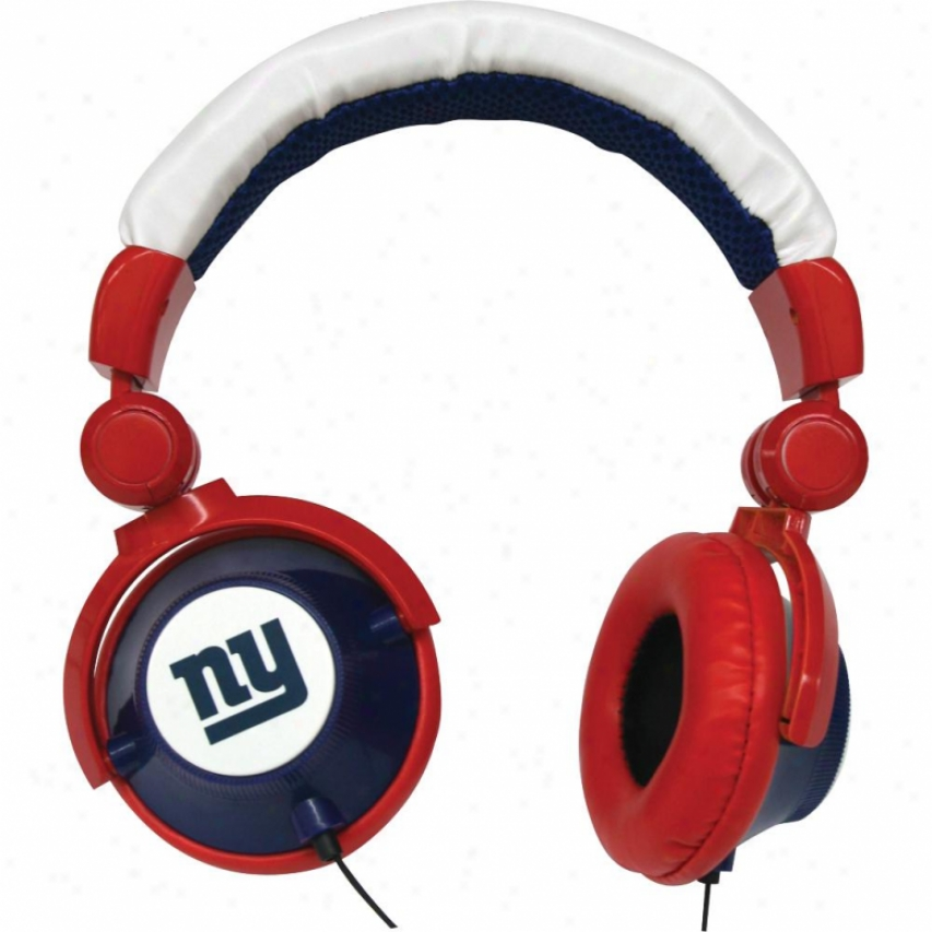Ihip Starting a~ York Giants Dj Headphones - Hpfbnygdj
