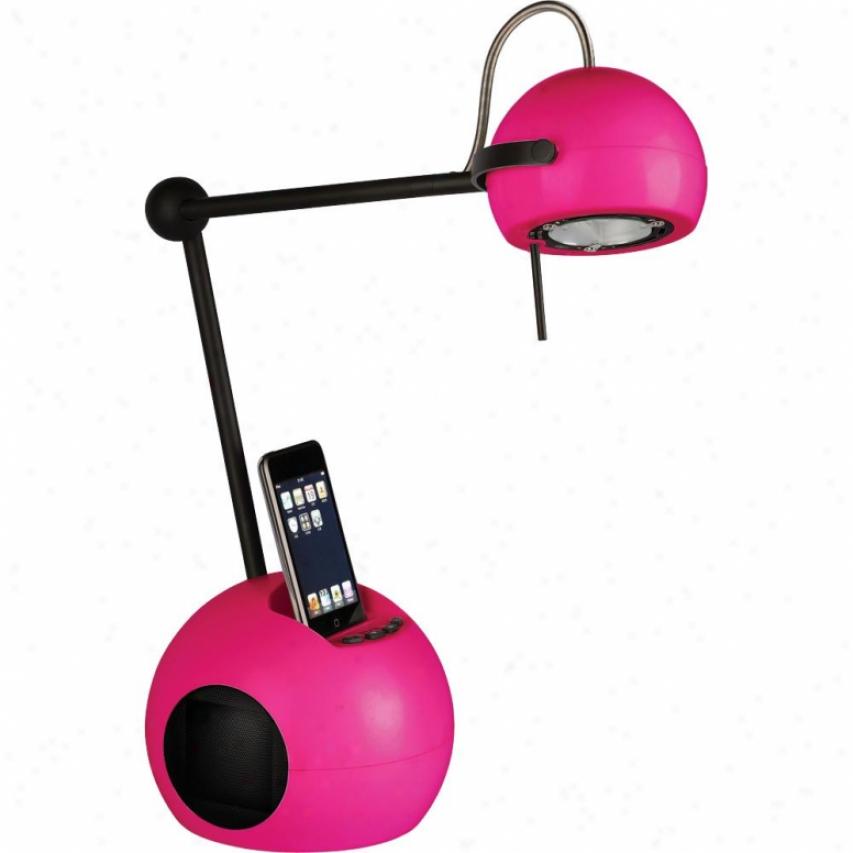 Ihome Orbit Discourser Lamp For Ipod - Pink