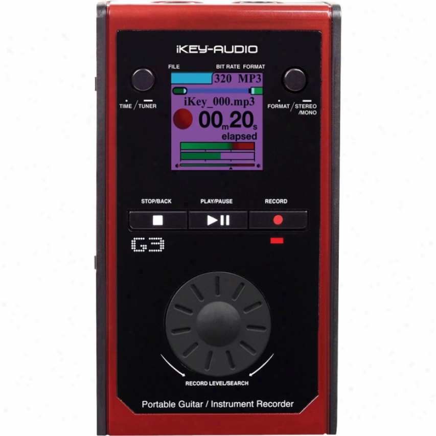 Ikey Audio G3 Movable Usb/sd Instrument Digital Recorder