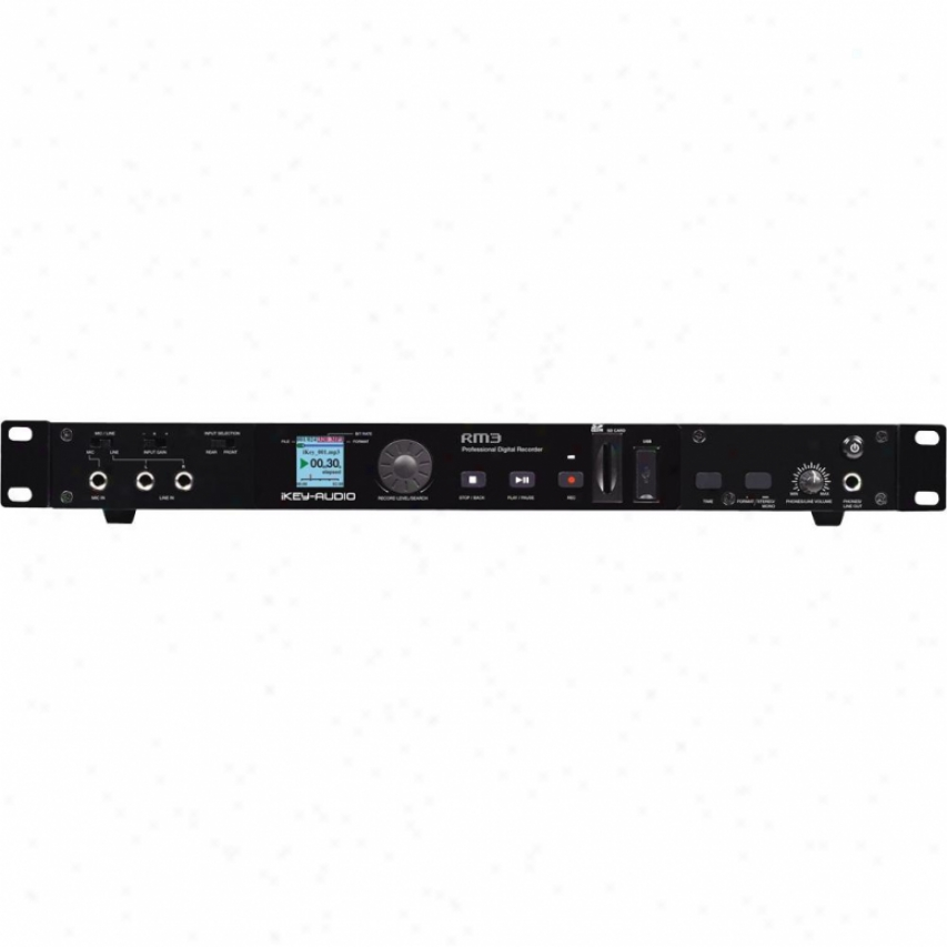 Ikey Rm3 Rackmounted Digital Recorder