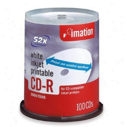 Imation 52x Cd-r 700 Mb/80 Min 100 Pac