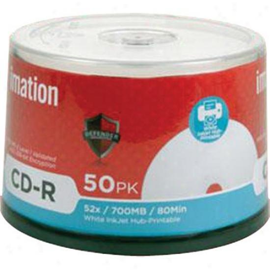 Imation 52x Cd-r 700mb/80kin 50pkk