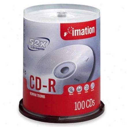 Imation 52x Cd-r 700mb/80min