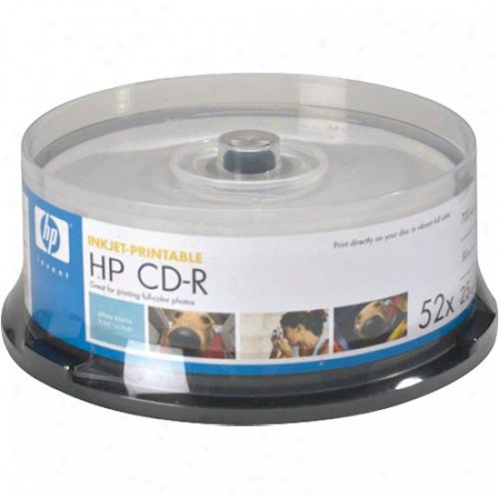 Imation Cd-r 25pk Spindle, Print