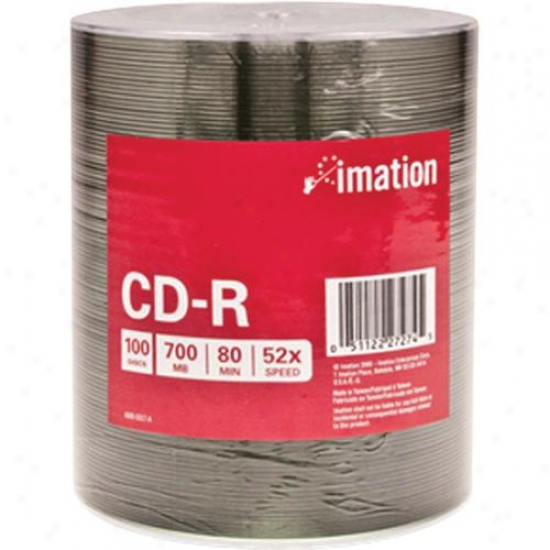 Imation Cd-r 700 Mb/80 Min 100pk Shrin
