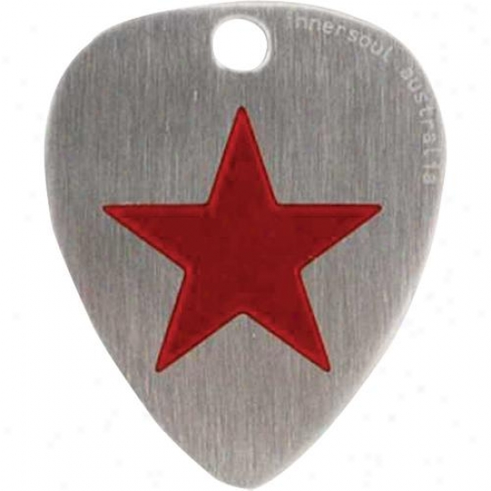 Innersoul Gp06rd Fate Design Guitar Pick Pendant