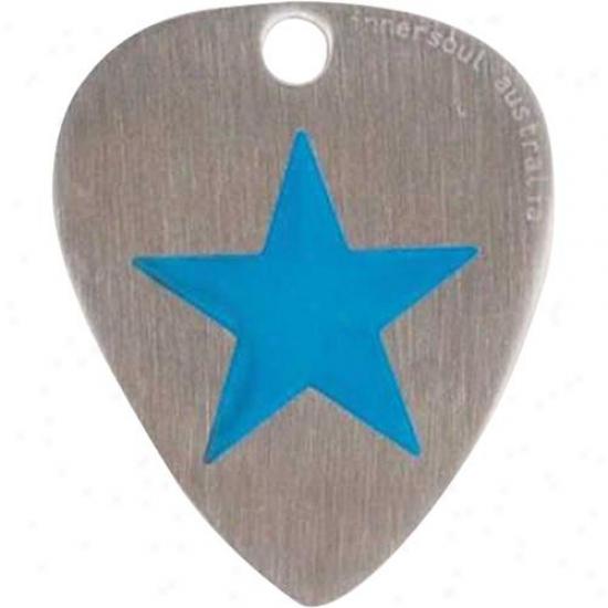 Innersoul Gp0l Star Design Guitar Pick Pendant