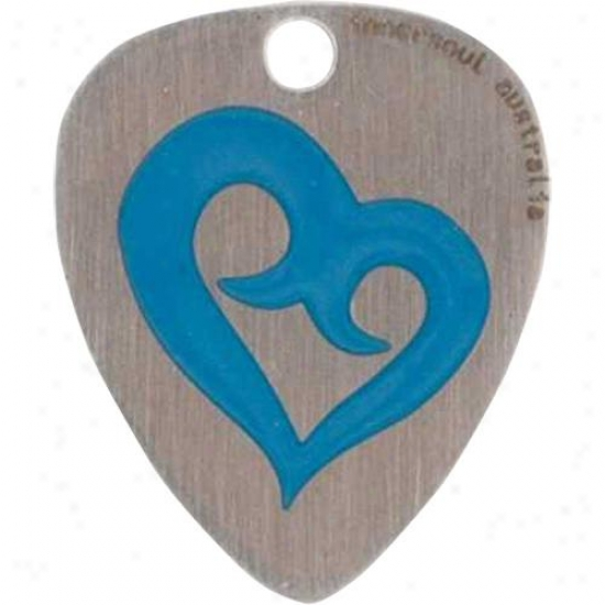 Innersoul Gp38bl Courage Design Guiar Pick Pendant