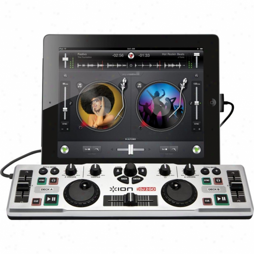 Ion Idj 2 Go Dj System For Ipad, Iphone And Ipod Touch
