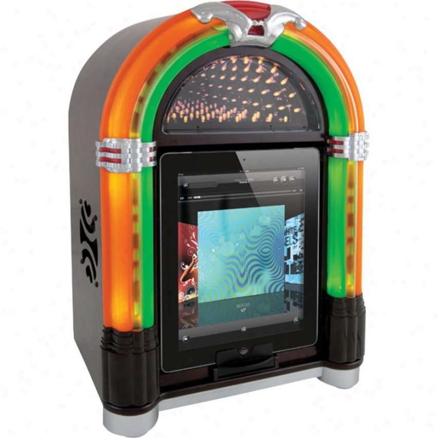 Ion Jukebox Retro Dock And Speaker For Ipod Iphone Isp18